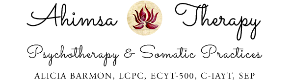 Somatic Psychotherapy + Yoga Therapy, Alicia Barmon, LCPC, ERYT